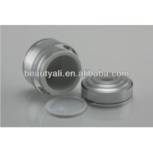 15ml 30ml 50ml Frasco de creme cosmético de luxo de parede dupla