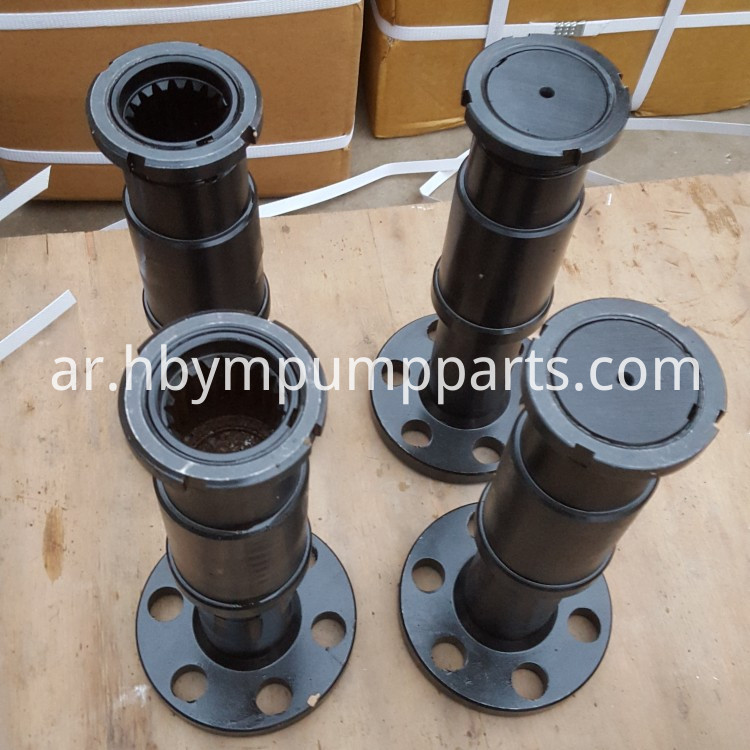 bearing shaft for boom pump