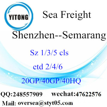Shenzhen Port Sea Freight Shipping To Semarang