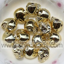 Various 10*13MM Costume Skull Bracelet Charming Bead