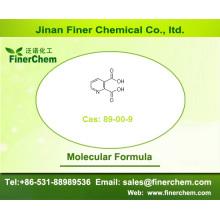 Ácido quinolínico; Cas 89-00-9; Ácido 2,3-piridinodicarboxílico; Ácido piridina-2,3-dicarboxílico | Preço de fábrica, estoque grande