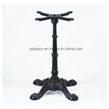 Black Cast Iron Restaurant Table Base with 4 Prongs (SP-MTL103)