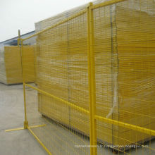clôture temporaire / barrière de contrôle de la foule / clôture détachable