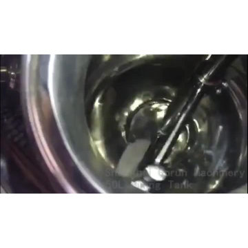 Tanque De Mistura De Suco De Aço Inoxidável Com Jaqueta