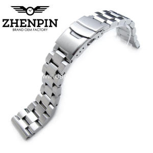 21.5mm  316L stainless steel solid watch band