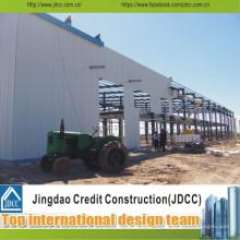 Casas fáceis da estrutura de aço da instalação
