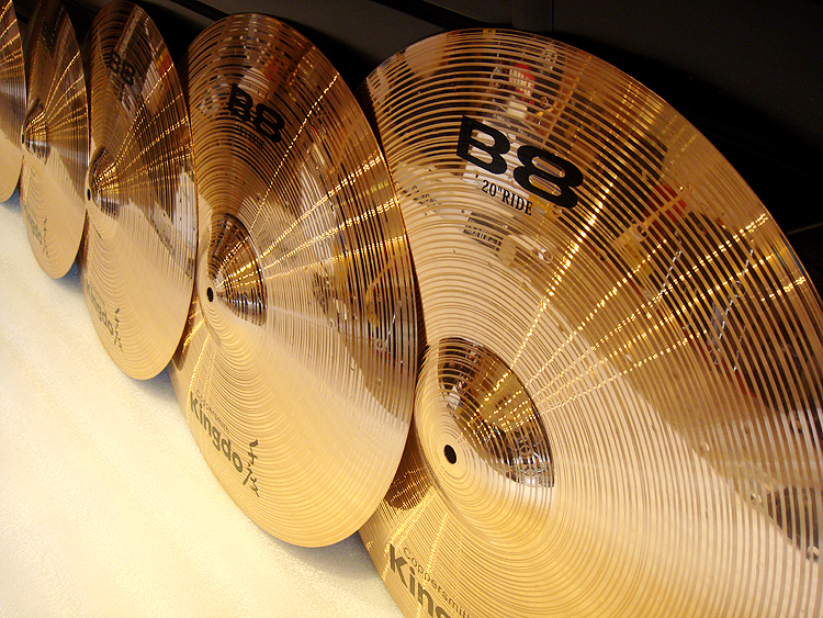 B8 Professional Percussion Cymbals
