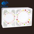 Heat Resistant Opal Glassware-24PCS Centrifuging Dinner Set