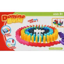Hölzerne pädagogische Spielwaren Sport Domino Reihen Spielzeug