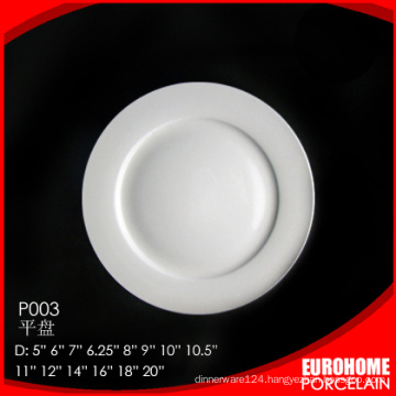 bulk buy from china porcelain cheap white porcelain dinner plates