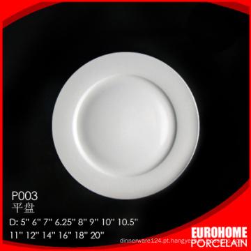 granel comprar pratos de jantar de porcelana branca barato de porcelana de china