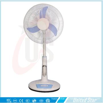 "16 ""Ventilador de pie Ventilador de techo Ventilador de ventilador solar"