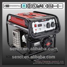 Gerador de alternador portátil pequeno de gasolina com peças