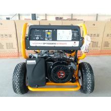 Tragbarer Hochleistungsbenzin-Benzin-Generator 7kw mit RCD und Fernanfang