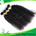 Горячая Распродажа 7А класс Виргинские волос кудрявый кудрявый волны