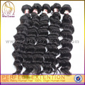 Full Cuticle Double Weft Color #2 Cheap Virgin Curly Weave 5a Peruvian Hair