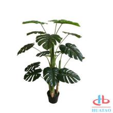 Home decor artificial pot plants with plastic pot