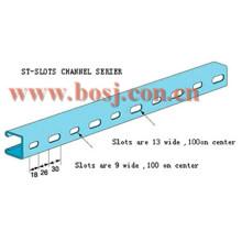 Support de canal en acier pour panneaux solaires Machine à formater des rouleaux Indoneisa