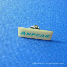 Nom Tag Offset Print Lapel Pin, Badge de nom (GZHY-OP-025)