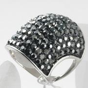 Nieuwe mode sieraden grote vinger ring voor vrouwen en mannen Strass bigband ringen