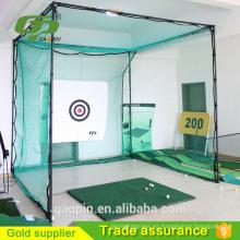 Red de swing de golf clásica y barata / práctica de golf red / práctica de golf redes y esteras