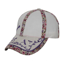 Cotton Embroidery Children Fitted Cap