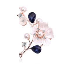 2021 Fashion Classic Simple Plum Blossom Diamond Women′s Wedding Jewelry