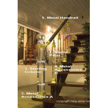 Cristal Glass High Quality Handrail