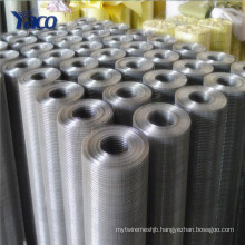 China suppliers hot dip galvanized welded wire mesh roll price list for sale