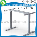 Manual control height table base