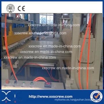 Línea de extrusión rígida de PVC Wave Board