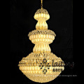 High ceiling candle crystal big chandelier led decoration light LT-60001