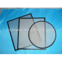 Hoja de hornear de malla de pizza de fibra de vidrio de PTFE