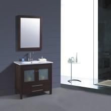 Solid Wood Bathroom Furniture (B-249)
