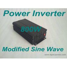 Inversor de energía de onda sinusoidal modificada de 800 vatios / convertidor de CC a CA