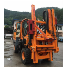 Honggong Highway Guardrail Piling machines