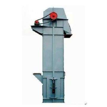 Vertical hoist bucket conveyor