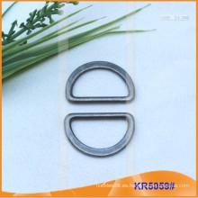 Tamaño interior 24mm Metal Hebillas, Regulador de metal, Metal D-Ring KR5059