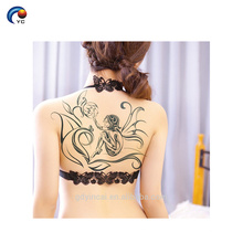 """O corpo CMYK provisório da parte traseira """"sexy"""" personaliza a etiqueta do tatuagem, tatuagem não-tóxica"""