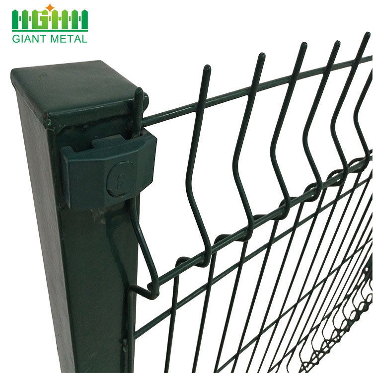 PVC Coated Welded 3D Curvy Wire Mesh Fence China Manufacturer