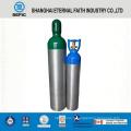 Cylindre de gaz à oxygène en aluminium sans soudure 2014 (LWH180-10-15)