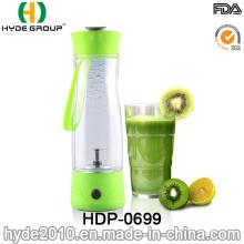 350ml Fruit Juice Plastic Vortex Shaker Bottle, Customized Fruit Juice Electric Shaker Bottle (HDP-0699)