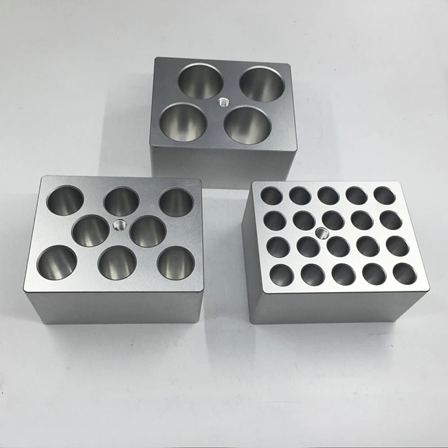 aluminum parts for experimental instrument