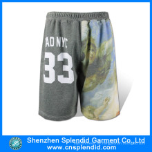 Großhandel Gym Bekleidung Herren Fleece stilvolle Sublimation Golf Shorts