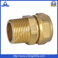 Brass Male Thread Straight for Multiayer Fitting (YD-6013)