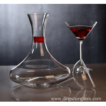 Quick decanter for red wine