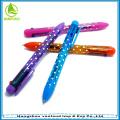 Горячие Продажа пластиковых multi цвета чернил ручки для продвижения