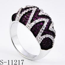 Anillo de joyería de plata de ley 925 para mujer (S-11217)