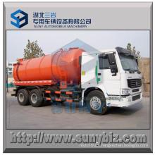 16000 L HOWO 6X4 Vacuum Suction Tanker