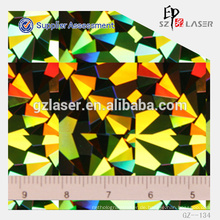 Hologramm-Shim zum Prägen von PET-Folie, Säulenmuster mit 800 * 1200mm